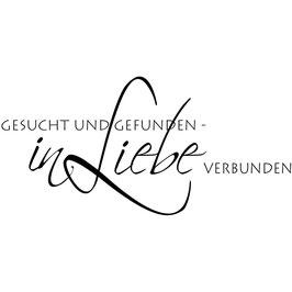 """Holzstempel """"Gesucht und Gefunden"""""""