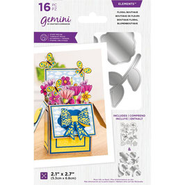 Floral Boutique Stamp & Die Set - Gemini