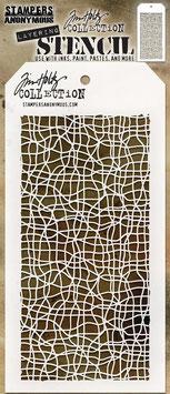 "Layered Stencil ""Tangled"" - Tim Holtz"