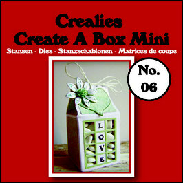 "Create A Box MINI ""Milchkarton"" - Crealies"