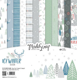 The Icy Winter Season 12x12 Paper Pack - ModaScrap