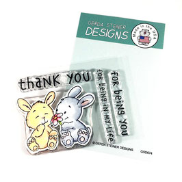 "Clearstamp ""Bunny Friends"" - Gerda Steiner Designs"