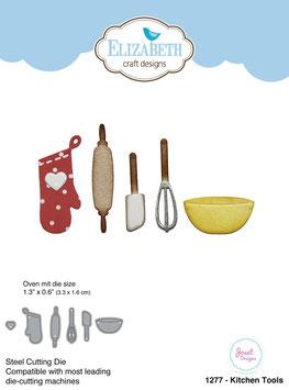 """Stanzschablone """"Kitchen Tools"""" - Elizabeth Craft Designs"""
