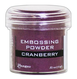 Cranberry Metallic - Ranger Embossing Pulver