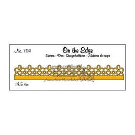 "Stanzschablone ""On The Edge #104"" - Crealies"