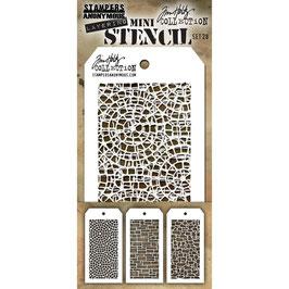 Mini Stencil Set #28 - Tim Holtz