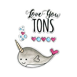 "Framelits Die Set ""Love You Tons"" - Sizzix"