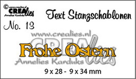 Frohe Ostern  - Crealies