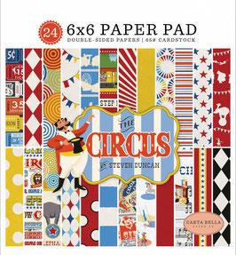Circus Paperpad 6x6 - Carta Bella