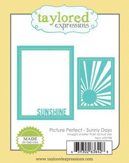 "Stanzschablone ""Picture Perfect - Sunny Days"" - Taylored Expressions"