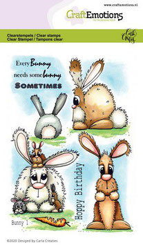 "Clearstamp ""Bunny #1"" - CraftEmotions"