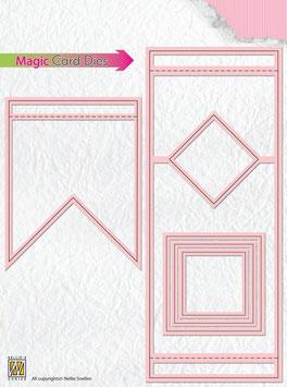 Magic Card Die, Rechteck  - Nellies Choice