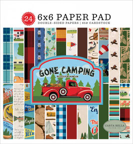 Gone Camping 6x6 Paperpad - Carta Bella