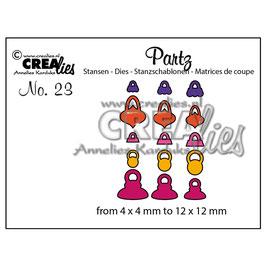 Partz #23 Christmas Decoration - Crealies