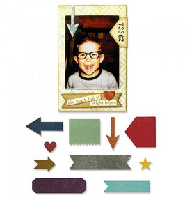"Thinlits Die ""Pocket Frame"" - Sizzix (Tim Holtz)"