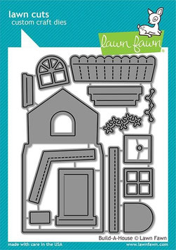 "Stanzschablone ""Build-A-House "" - Lawn Fawn"