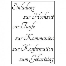 Einladung - EFCO