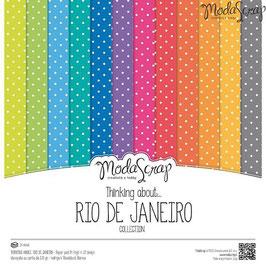 Thinking About Rio De Janeiro 12x12 - ModaScrap