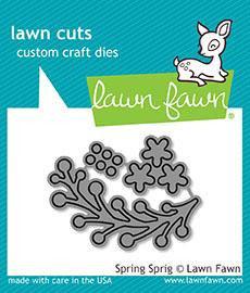 "Stanzschablone ""Spring Sprig"" - Lawn Fawn"