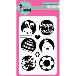 "Clearstamp ""Easter Icon"" - Pink & Main"