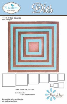 Fitted Squares - Elizabeth Craft Designs
