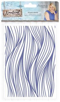 "Prägeschablone ""Ocean Waves"" - Crafter's Companion"