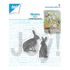 "Stanzschablone ""Hasen"" - Joy!Crafts"