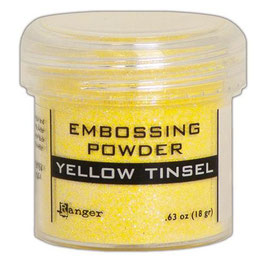 "Embossingpulver ""Yellow Tinsel"" - Ranger"