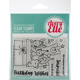"Clearstamp-Set ""Critter Crew"" - Avery Elle"
