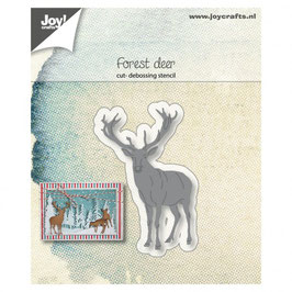 "Stanzschablone ""Forest Deer"" - Joy!Crafts"