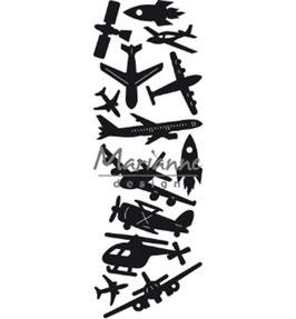 "Craftable ""Aviation"" - Marianne Design"