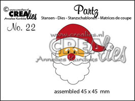 Partz No.22 Santa Claus - Crealies