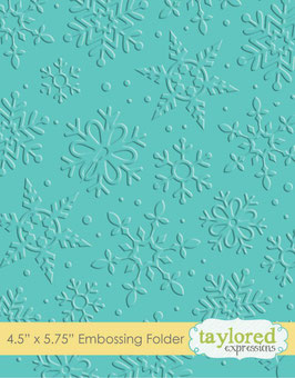 Embossingfolder, Winter Flurry - Taylored Expressions