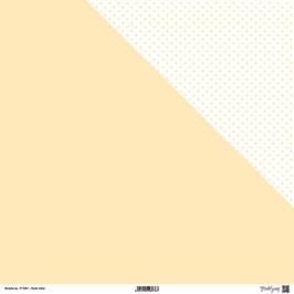 "Designpapier ""Pastel Yellow"" - ModaScrap"