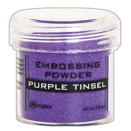 "Embossingpulver ""Purple Tinsel"" - Ranger"