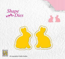 """Shape Die """"Kaninchen"""" - Nellies Choice"""