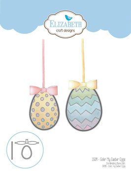 "Die Set ""Color My Easter Eggs"" - Elizabeth Craft Designs"