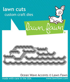 Ocean Wave Accents - Lawn Fawn