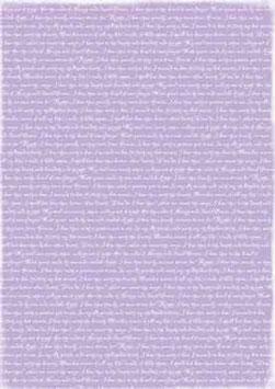Purple Lyrics - Reprint