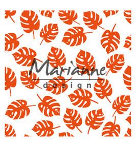 "Prägeschablone ""Tropical Leaves"" - Marianne Design"