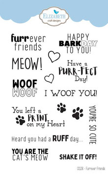"Clearstampset ""Furrever Friends"" - Elizabeth Craft Designs"