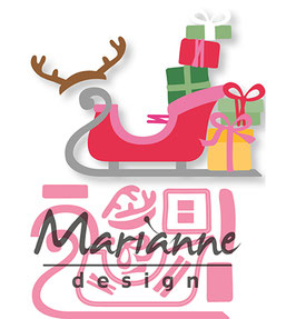 Collectable Eline's Sleigh - Marianne Design