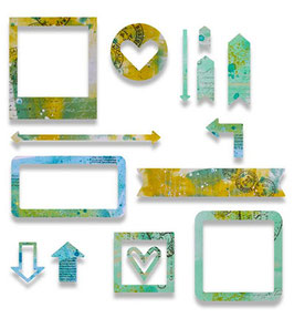 "Thinlits Die Set ""Frames"" - Sizzix"