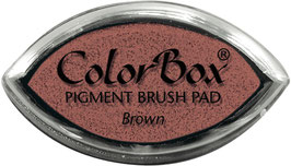 ColorBox Pigment Ink Cat's Eye, Brown - Clearsnap