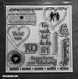 Valentine Stempel Set - Kulricke