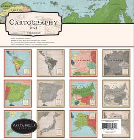 Cartography #2 12x12 Collection Kit  - Carta Bella