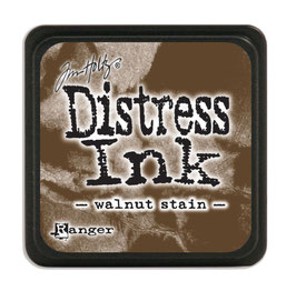 Tim Holtz Distress Mini Ink - Walnut Stain