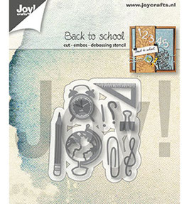 "Stanzschablone ""Back To School"" - Joy Crafts"