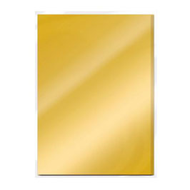 Gold Pearl Satin Mirror Card - Tonic Studios