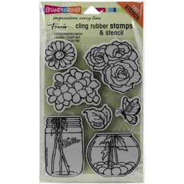 "Rubberstamp ""Build A Bouquet"" - Stampendous"